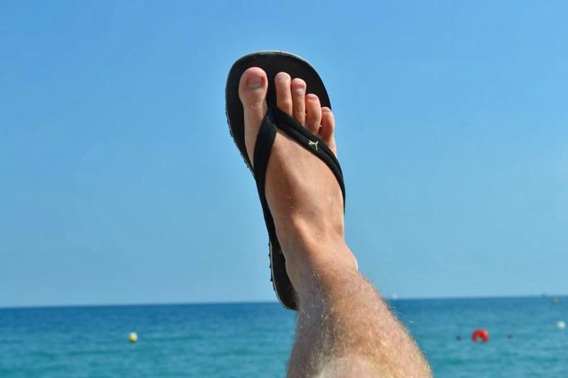 Ich mag ja Fußfotos...