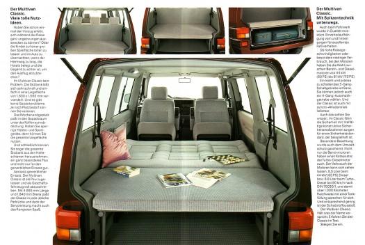 Der Multivan Classic ist auch bereits ein Kultobjekt (1993)