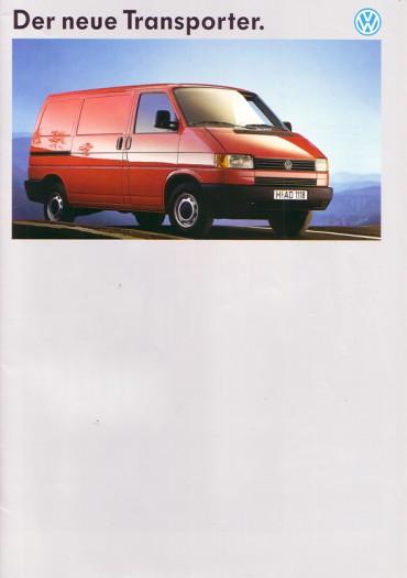 Generationswechsel: VW T4, 1990