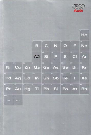 Periodensystem der Elemente - mit A2 (2001) - Aufwändige Präsentationsmappe