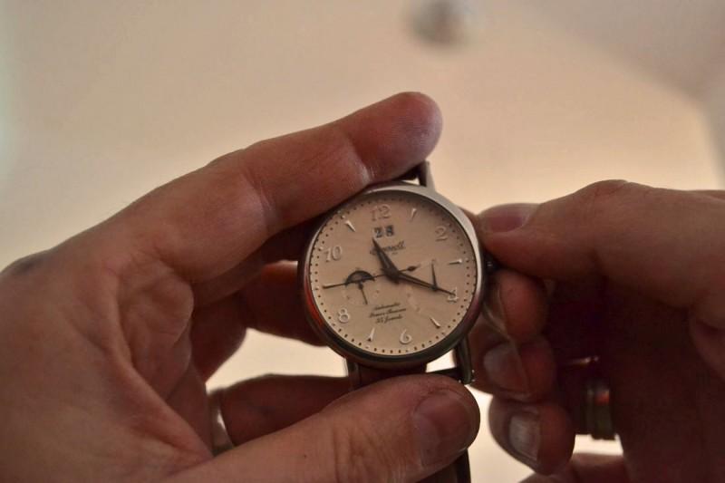 Die mechanische ist meine wichtigste Uhr