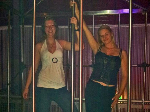 Girls in the Cage