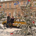 Winter am Ende von Weihnachten