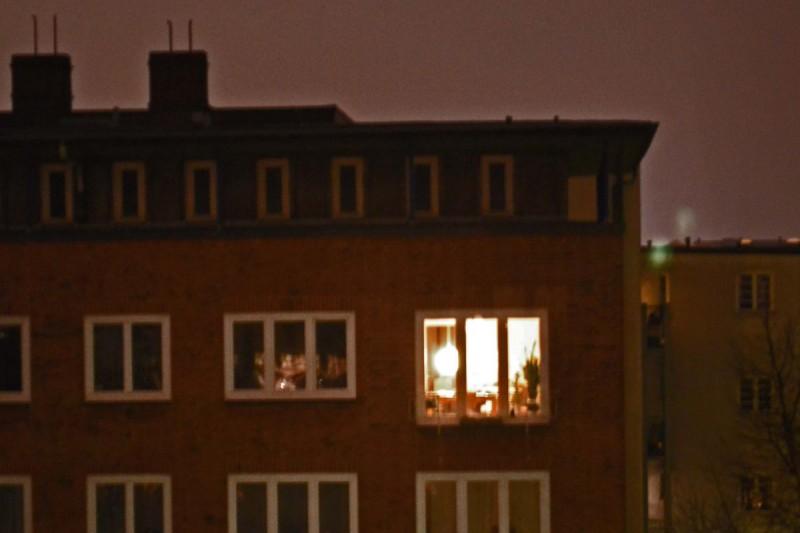 Abend in Hamburg