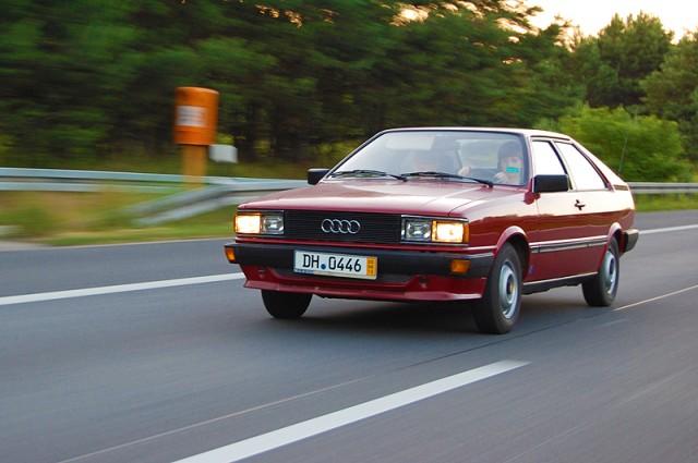 Audi Coupè GL Baujahr 1983