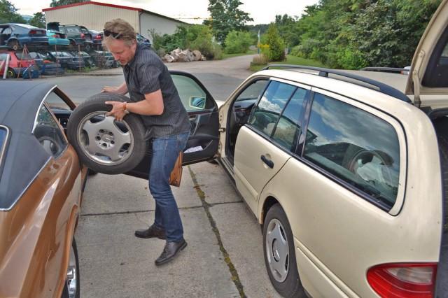 das sind... sozusagen LKW Reifen!
