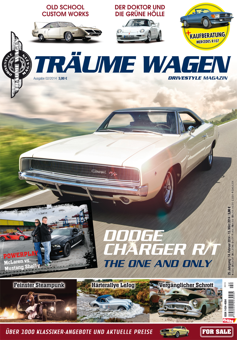 Editorial TRÄUME WAGEN 02/2014