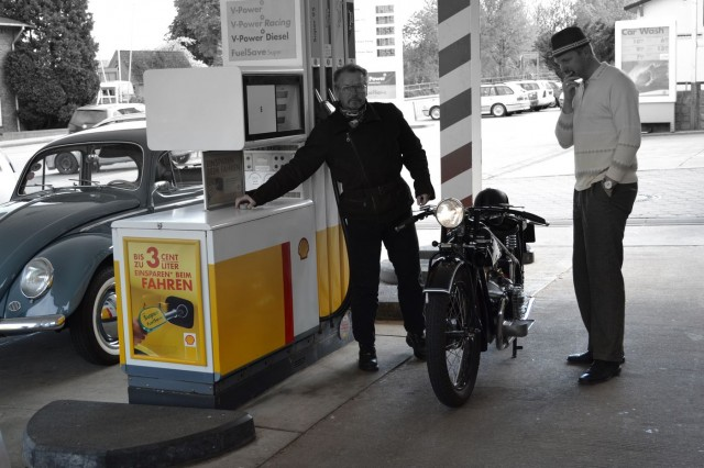 Tankfreunde vergangener Zeiten