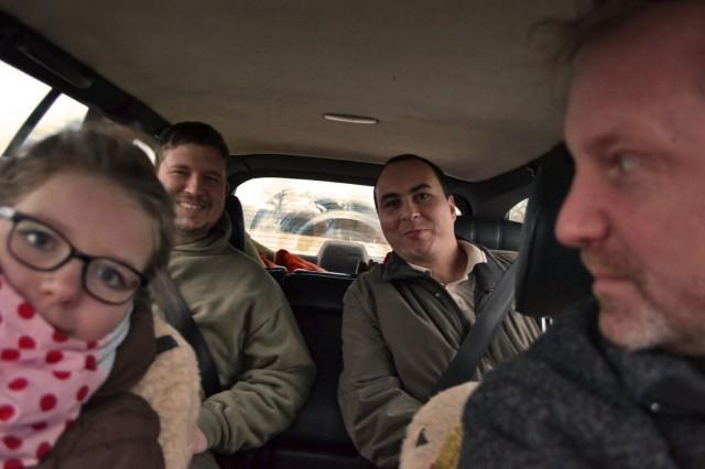 Töchterchen, Baur Eta, Stefan H. und ich