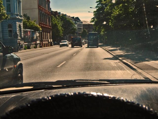 Ein letztes mal über Hamburgs Straßen