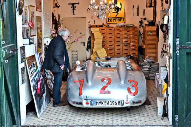 Allein die Garage ist ein kleines Museum