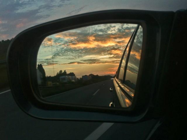 Auftakt zum Roadmovie