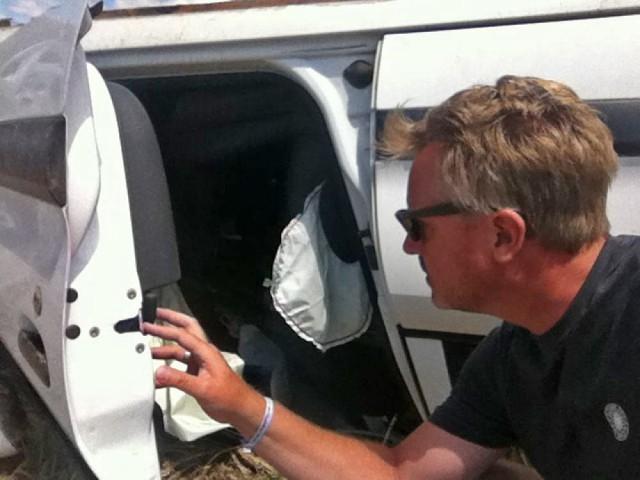 Die Airbags haben wohl funktioniert...