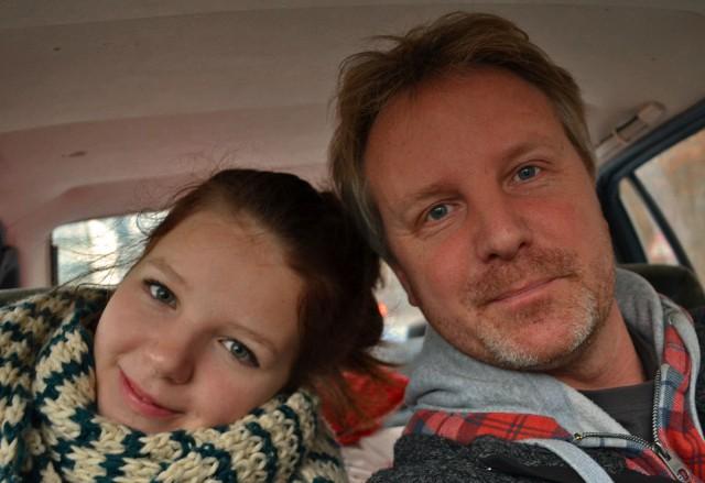 Autofahren mit Papa