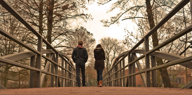 Die Nagelbrücke.