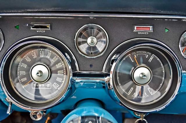 eines der attraktivsten Cockpits der 60er