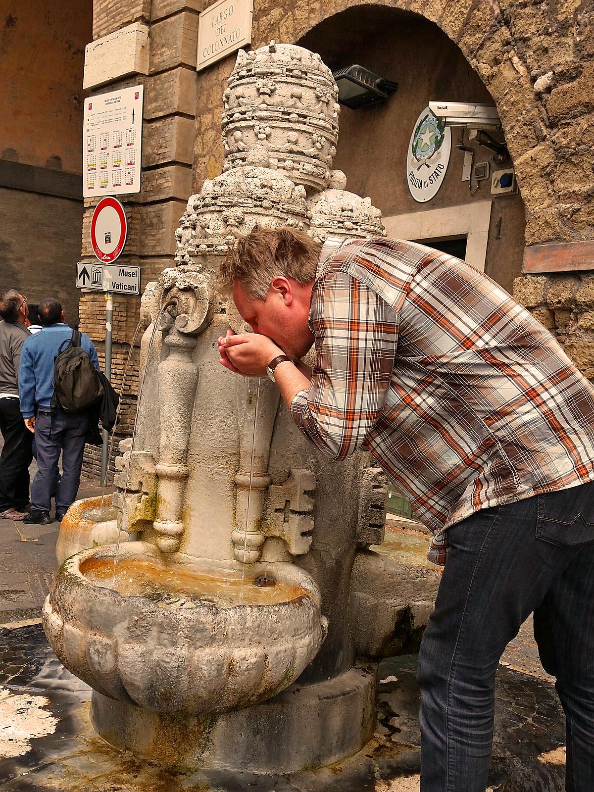italienisches Wasser trinken Teil 2