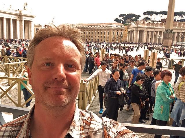 Ich will nicht den ganzen Tag in Rom rumstehen