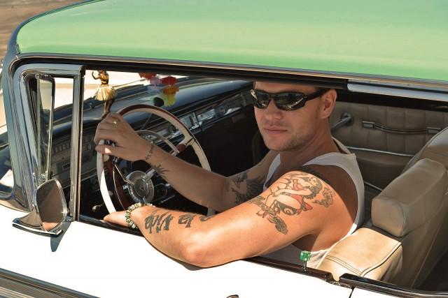 Björn rockt. Und sein Auto auch.