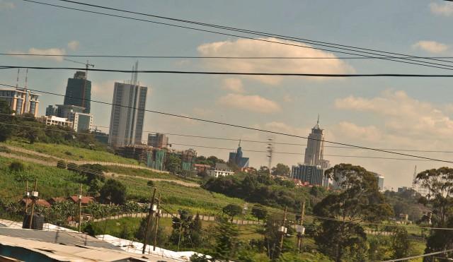 Downtown Nairobi. Da will ja niemand hin.