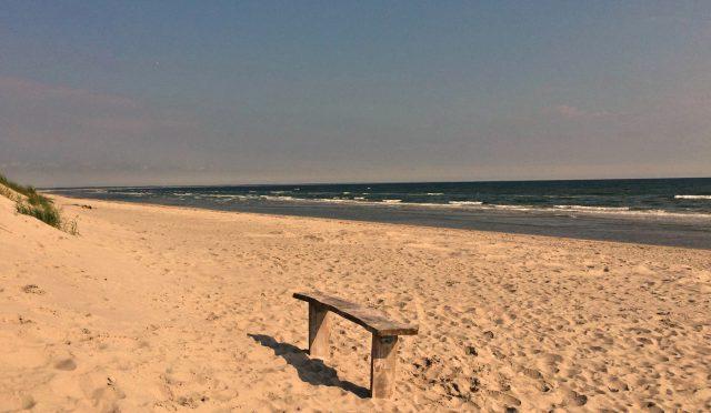 Verweilen und einfach nur auf das Meer gucken.