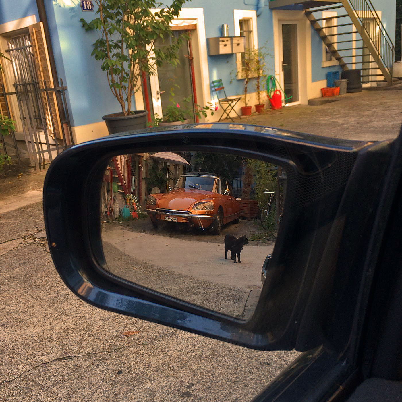 Objects in the rear view mirror may be closer than they appear