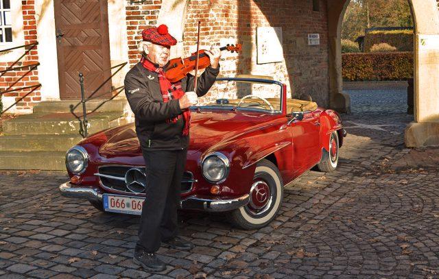 Nicht Helmut - aber sein Auto