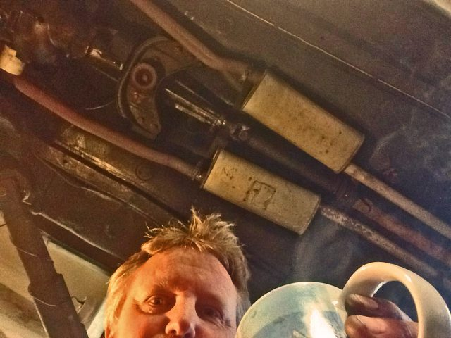 Prost Kaffee, alles wieder an Ort und Stelle