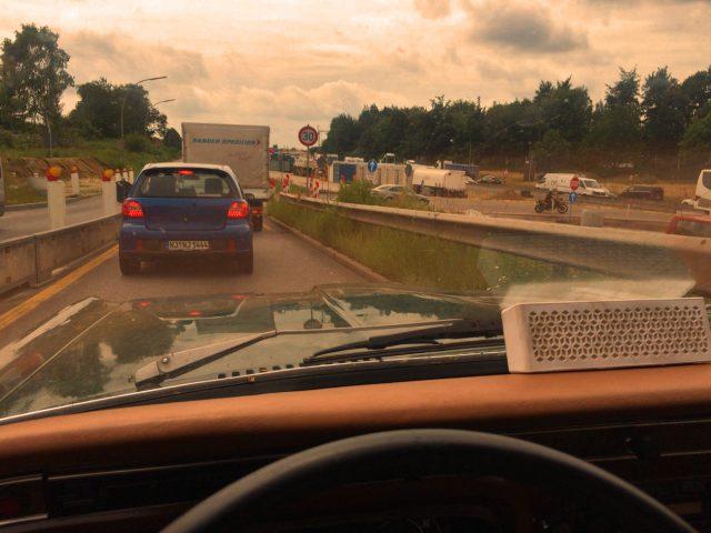 Wenn alle stillstehen, ist es die Autobahn.