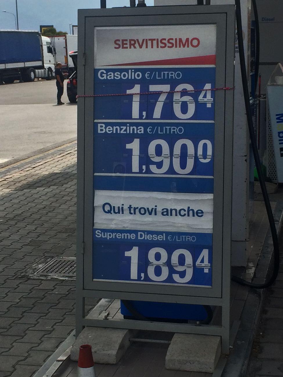 Und kost' Benzin auch drei Mark zehn...