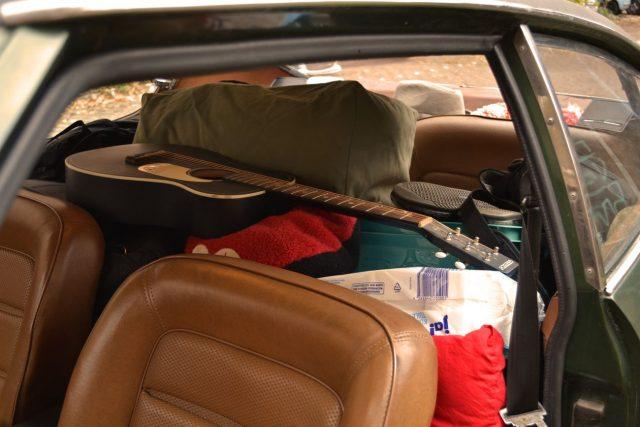 Auf dem Rücksitz ist ja auch noch Platz.