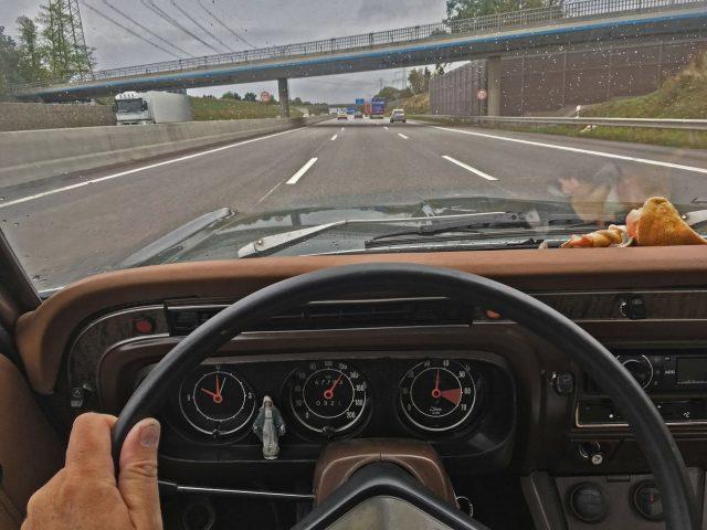 Cruising auf der A7