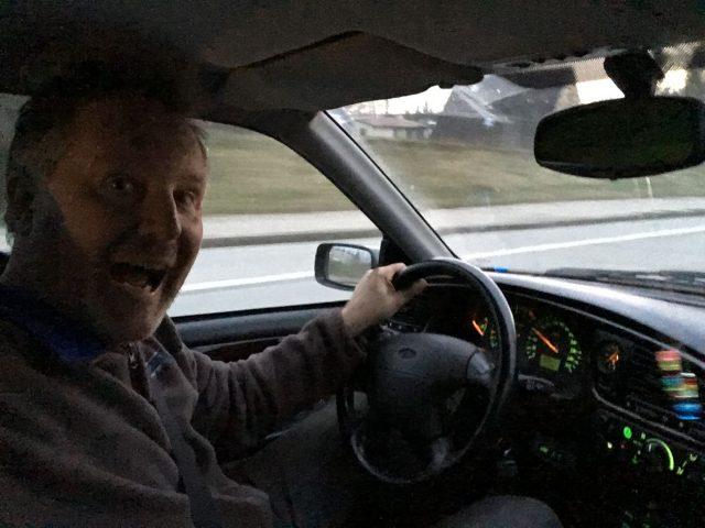 Vollgas auf die Autobahn