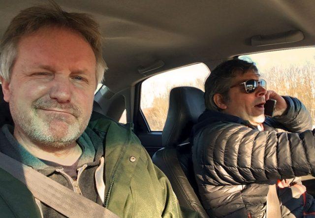 Im Volvo gefahren werden - läuft.