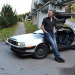 Einmal selbst DeLorean fahren!
